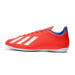 Adidas X Tango 18.4 IC Football Boots Red White