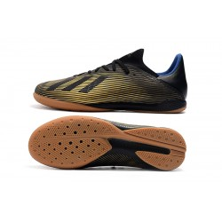 Adidas X Tango 19.3 IC Football Boots Black Golden