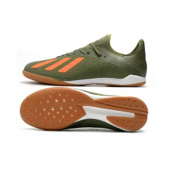 Adidas X Tango 19.3 IC Football Boots Green Orange