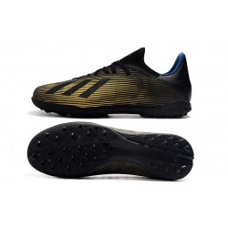 Adidas X Tango 19.3 TF Football Boots Black Golden