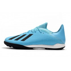 Adidas X Tango 19.3 TF Football Boots Blue Black