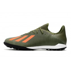 Adidas X Tango 19.3 TF Football Boots Green Orange