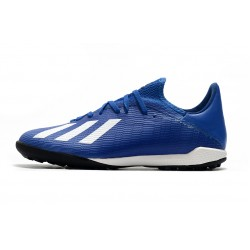 Adidas X Tango 19.3 TF Football Boots Royal Blue White