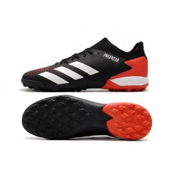 Adidas PREDATOR 20.3 L TF Football Boots Black White Red