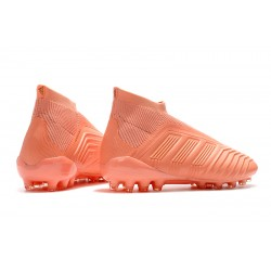 Adidas Predator 18+AG Laceless Football Boots Pink