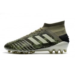 Adidas Predator 19.1 AG Football Boots Army Green