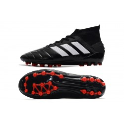 Adidas Predator 19.1 AG Football Boots Black White