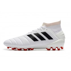 Adidas Predator 19.1 AG Football Boots White Black