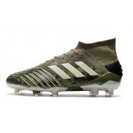 Adidas Predator 19.1 FG Football Boots 25th Anniversary Army Green