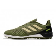 Adidas Predator 19.1 TF Football Boots Army Green Golden