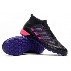 Adidas Predator 19.3 TF Football Boots Black Blue Pink