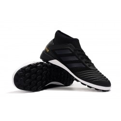 Adidas Predator 19.3 TF Football Boots Black White