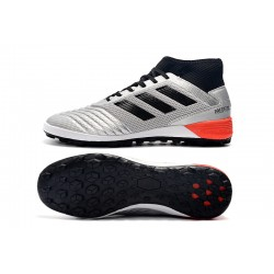 Adidas Predator 19.3 TF Football Boots Silver Black