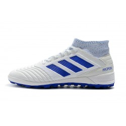 Adidas Predator 19.3 TF Football Boots White Blue