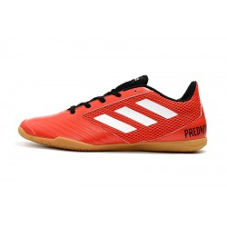 Adidas Predator 19.4 IN Football Boots Red White