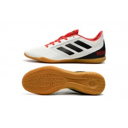 Adidas Predator 19.4 IN Football Boots White Black Red