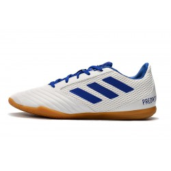 Adidas Predator 19.4 IN Football Boots White Blue