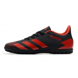 Adidas Predator 20.4 TF Football Boots Football Boots Black Red