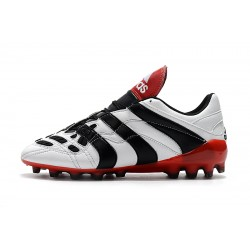 Adidas Predator Accelerator Electricity AG Football Boots White Black Red