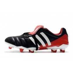 Adidas Predator Mania FG Football Boots Classic Black White Red