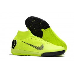 NIke SuperflyX 6 Elite IC Football Boots Fluo Green
