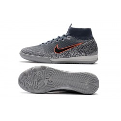 NIke SuperflyX 6 Elite IC Football Boots Grey