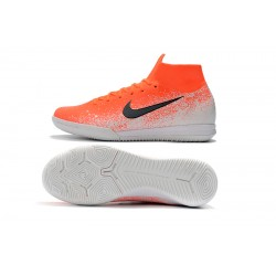 NIke SuperflyX 6 Elite IC Football Boots Orange White