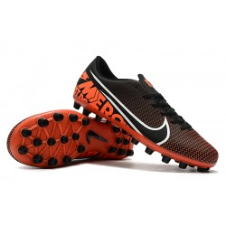 Nike Dream Speed Mercurial Vapor 13 Academy AG Football Boots Black Red