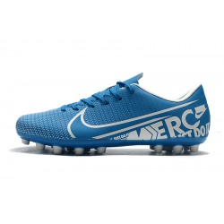 Nike Dream Speed Mercurial Vapor 13 Academy AG Football Boots Blue White