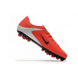 Nike Dream Speed Mercurial Vapor 13 Academy AG Football Boots Red Silver