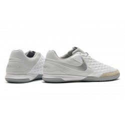 Nike Legend VIII Academy IC Football Boots White Silver