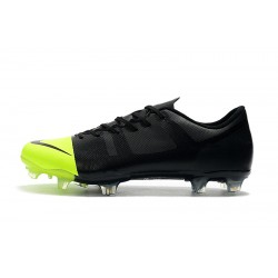 Nike Mercurial Superfly 360 GS FG Football Boots Black Green