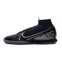 Nike Mercurial Superfly 7 Elite MDS IC Flyknit Football Boots Black