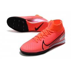 Nike Mercurial Superfly 7 Elite MDS IC Flyknit Football Boots Red