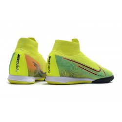 Nike Mercurial Superfly 7 Elite MDS IC Flyknit Football Boots Yellow