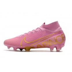 Nike Mercurial Superfly 7 Elite SE FG Football Boots - Pink Gold