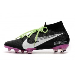 Nike Mercurial Superfly 7 Elite SE FG Football Boots Black PInk White