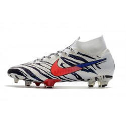 Nike Mercurial Superfly 7 Pro Elite FG South Korea White Black Red Blue Football Boots104