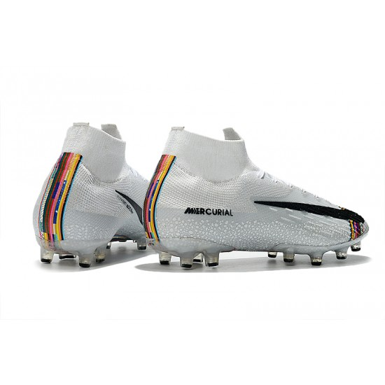 Nike Mercurial Superfly VI 360LVL UP Elite FG Football Boots White