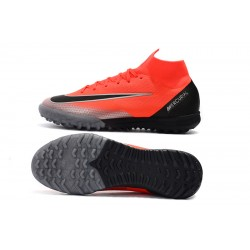 Nike Mercurial Superfly VI Elite CR7 TF MD Football Boots Orange