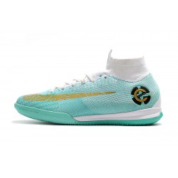 Nike Mercurial SuperflyX VI Elite CR7 IN Football Boots White Green