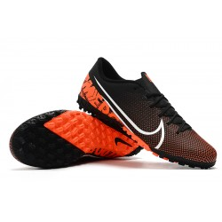 Nike Mercurial Vapor 13 Academy TF Football Boots Black Orange