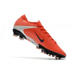 Nike Mercurial Vapor 13 Elite AG Flyknit 360 Football Boots Red Silver