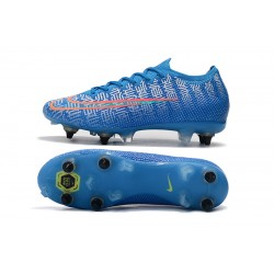 Nike Mercurial Vapor 13 Elite SG-PRO AC Football Boots Blue Pink