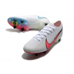 Nike Mercurial Vapor 13 Elite SG-PRO AC White Pink Blue Football Boots
