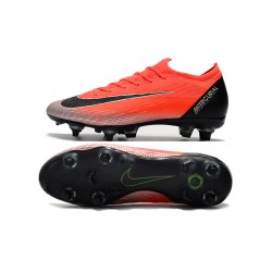 Nike Mercurial Vapor VI Elite CR7 SG AC Football Boots Orange Silver