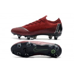 Nike Mercurial Vapor VI Elite SG AC Football Boots Wine Red