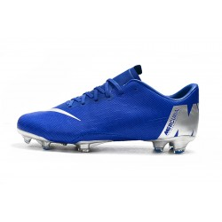 Nike Mercurial Vapor XII PRO FG Football Boots Blue Silver