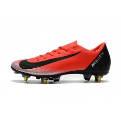 Nike Mercurial Vapor XII PRO SG Football Boots Red Silver