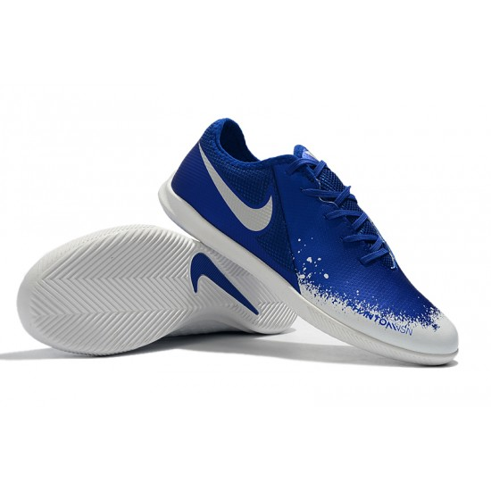 Nike Phanton VSN Academy IC Football Boots Blue White